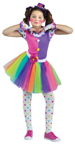 Clownin' Around Costume - Girl's Costume