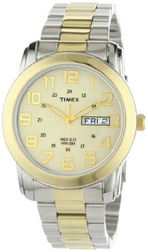 Timex Men's T2N439 Elevated Classics Sport Chic Two-Tone Bracelet Watch
