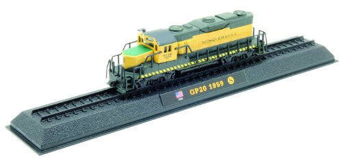 GP20 - 1959 diecast 1:160 scale locomotive model (Amercom LN-40) - 1