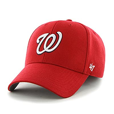 MLB Washington Nationals MVP Adjustable Cap, Red