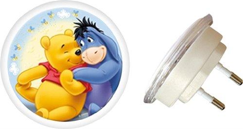 WPLUB040 – Kaufmann-Neuheiten – 'Winnie the Pooh' Nachtlicht mit Stecker