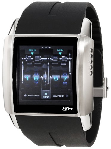 HD3 Men's AC00 V1 CA01 Stainless Steel with Digital Dial Watch