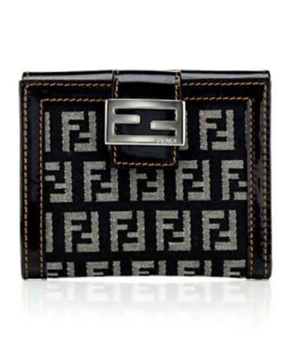 Fendi Zucca French Purse