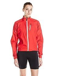 Vaude Spray IV rain jacket womens Ladies red Size 40 2014