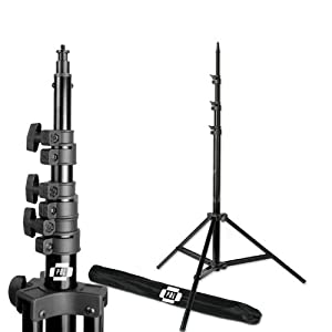 PBL Pro Heavy Duty 8' Light Stand, Air Cushioned, for Photo or Video