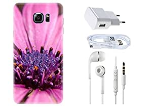 Spygen SAMSUNG GALAXY Note 5 Case Combo of Premium Quality Designer Printed 3D Lightweight Slim Matte Finish Hard Case Back Cover + Charger Adapter + High Speed Data Cable + Premium Quality Handfree