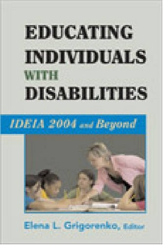 Educating Individuals With Disabilities: Ideia 2004 And Beyond front-362272