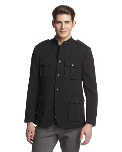 Kenneth Cole Men's Military Jacket