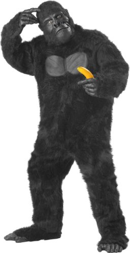 Adult Men's Deluxe Gorilla Halloween Costume