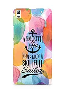 Amez A Smooth Sea Never made a Skillful Sailor Back Cover For Lenovo K3 Note