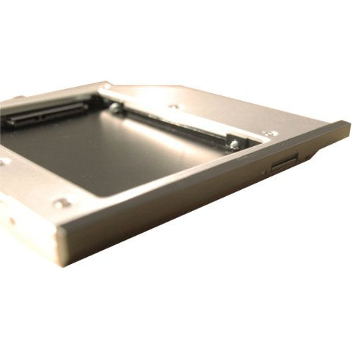 Salcar® - Super Slim Ultrabay 2. HDD SATA Caddy kit Adapter für IBM Lenovo ThinkPad T400, T500, W500, W700, ThinkPad Dockstation für X200 Serie, X200T, X200S, X200RG