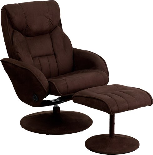 Swivel Recliner With Ottoman front-422708