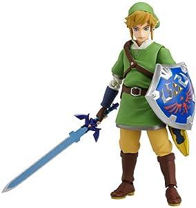 The Legend of Zelda Skyworld Sword Figurine Figma Link