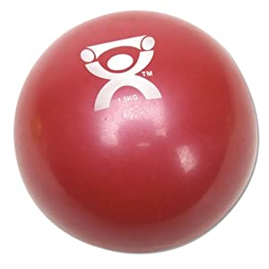 Cando Plyometric 3.3lbs Red Weighted Ball