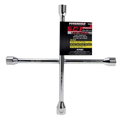 "Powerbuilt 940558 14"" Universal Lug Wrench"