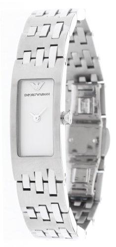 Emporio Armani - Reloj de pulsera mujer, color plateado
