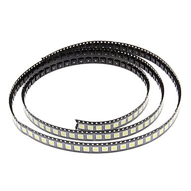 Mch-Diy 5050Smd 10-17Lm 6000-6500K Cool White Light Led Chip (2.8-3.6V/100Pcs)