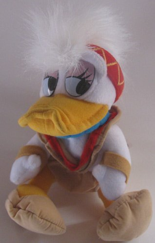 Disney Bean Bag Plush Daisy Duck Dressed for Frontierland - 1