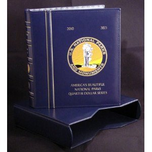Lighthouse National Park Quarters Album w/ Slipcase (CLNPQSET) P&D 2010-2021