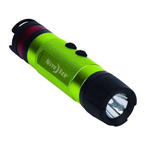 Nite Ize NL1A-17-R7 3-in-1 LED Mini Flashlight, Lime Green
