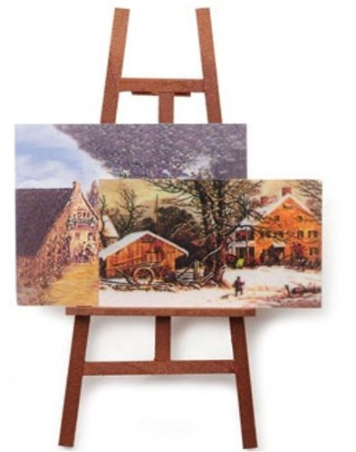 5IN ARTIST EASEL W/2 PAINTINGS - 1