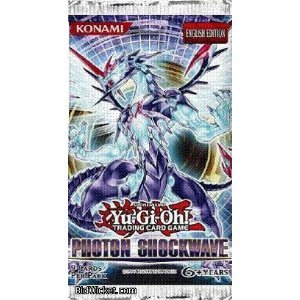 YuGiOh ZEXAL Photon Shockwave Booster Pack - 1