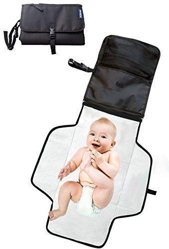 Fasciatoio portatile per cambiare i pannolini e vestiti del bambino ★ Borsa fasciatoio da viaggio pannolino ★ Fasciatoi per neonato ★ Materassino fasciatoio per memorizzare le abbigliamento neonato