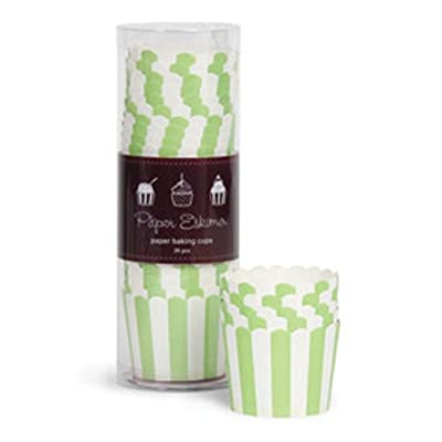 Paper Eskimo 25 Paper Baking Cups, Apple Green