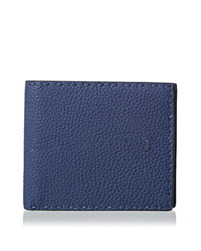 Fendi Men's Stitched Wallet, Ortensia