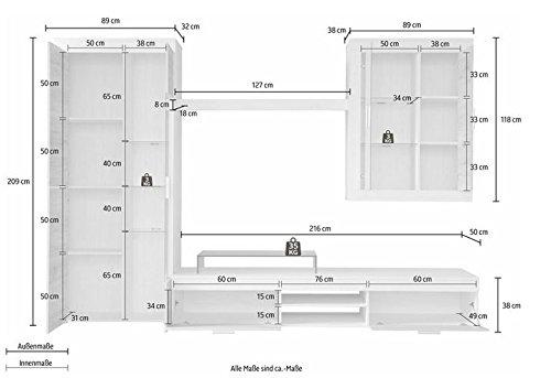 trendteam-BM00277-Wohnwand-Weiss-Pinie-Struktur-Nachbildung-Fronten-Eiche-San-Remo-Sand-BxHxT-305-x-209-x-50-cm