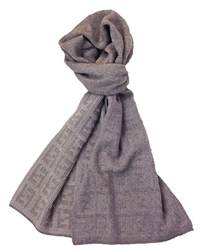 fendi-womens-mens-knit-tonal-zucca-monogram-wool-scarf-taupe