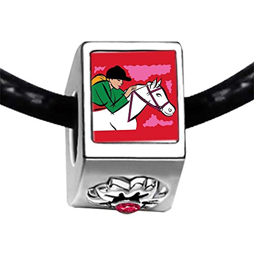 Hobbies Ride Horse Photo Red Zircon Crystal July