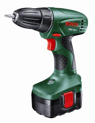 Bosch PSR 14.4 Cordless 14.4 Volt Drill/Driver, 1 x NiCD Battery