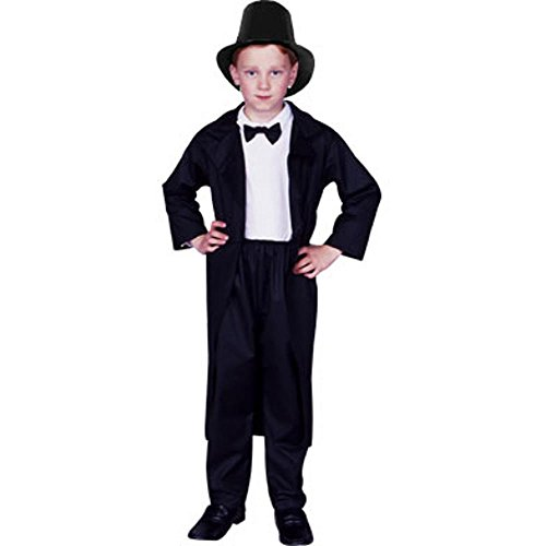 Child's Abraham Lincoln Halloween Costume (Size: Small 4-6)