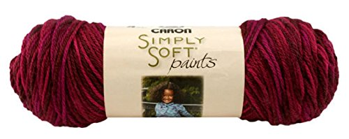 Neww Simply Soft Paints Yarn-Sunset Neww
