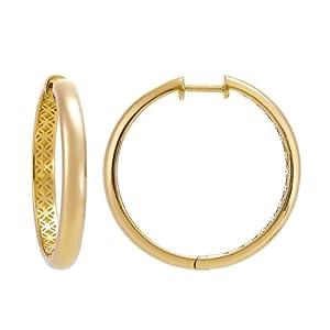 Esprit - ESCO90753B000 - Boucles d'oreilles créoles Femme - Argent 925/1000