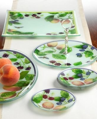 "Gorham ""Fall Orchard"" 6"" Round Plates, Set of 4"