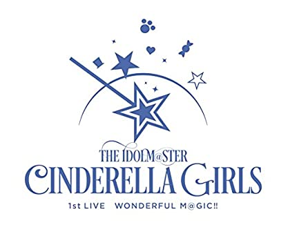 THE IDOLM@STER CINDERELLA GIRLS 1stLIVE WONDERFUL M@GIC!! ��Blu-ray3���� BOX �������������� ��ڥ��ꥢ����� ���ꥸ�ʥ륫���ȥ󥱡����դ���