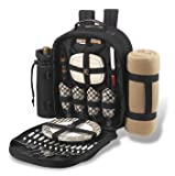 Search : Picnic At Ascot Picnic Pack with removable blanket - for four.