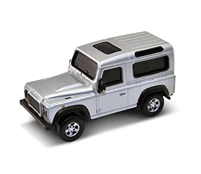 Land Rover Defender USB Memory Stick 4Gb - Grey from AutoRegalia
