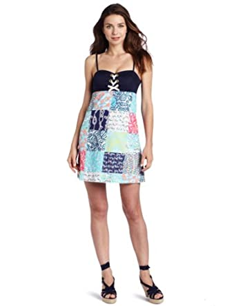 Lilly Pulitzer Women's Rilee Dress, Multi Sailor Patch, 10