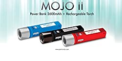 Portronics Mojo 2 2600mAH Power Bank and Rechargable Touch (Blue)