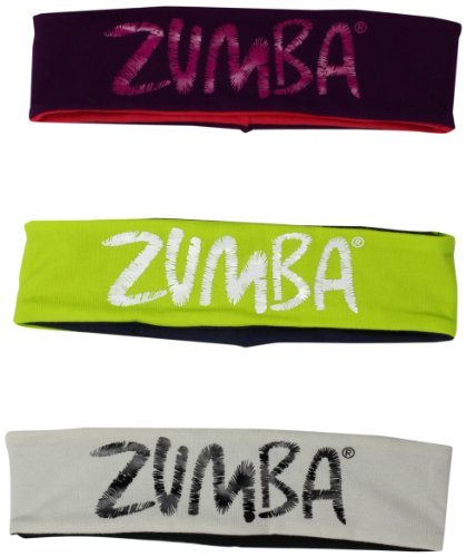 Zumba Fitness LLC Joy Two-Way Headbands-Pack of 3