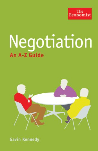 The Economist: Negotiation: An A-Z Guide (Economist a-Z Guide)