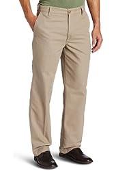 Dockers Men's Outdoor Khaki D3 Classic-Fit Flat-Front Pant