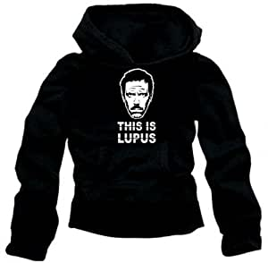 THIS IS LUPUS - DR. HOUSE black_hoodie - sz.L