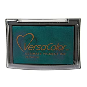 Tsukineko Full-Size VersaColor Ultimate Pigment Inkpad, Pacific by Tsukineko