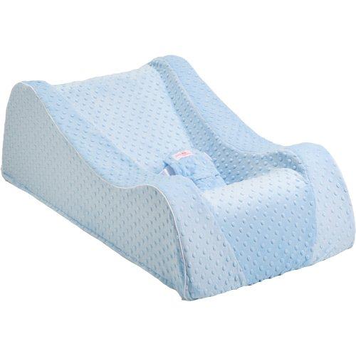 Nap Nanny Chill Infant Recliner, Minky Blue