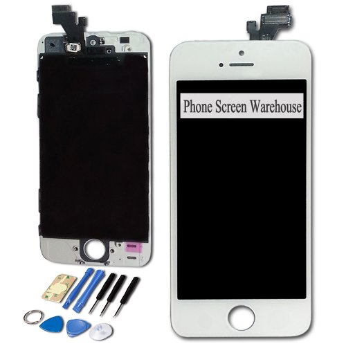 For Apple Iphone 5 5G White Screen Replacement - Lcd Digitizer And Front Touch Screen Assembly