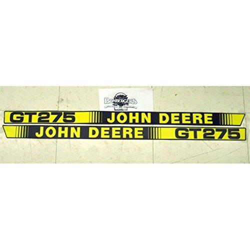 (USA Warehouse) John Deere GT275 hood decal set for a GT275 tractor M116562 M116563 -/PT# HF983-1754368602